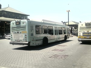 MBTA Buses at Dudley Station