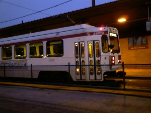 Route 101 Trolley at 69th St