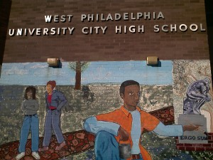 Mural at University City High School