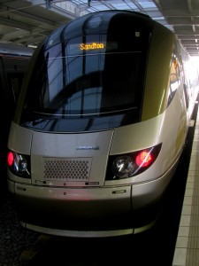 Gautrain, one of the world's newest high speed rail systems