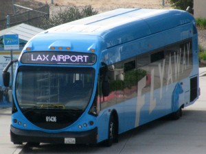LAX Flyaway bus from Irvine Station