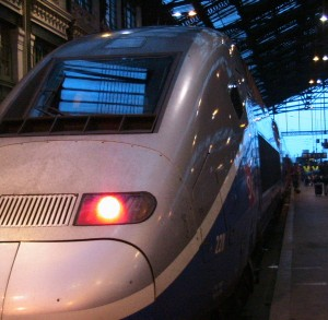 TGV at Gare de Lyon