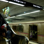 Wayfinding for the Orange Line is good within the North Hollywood Red Line station, but...
